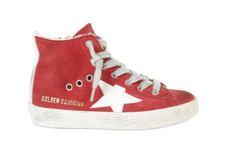 Golden Goose Scarpe Sneakers Alte Donna In Pelle Nuove ...
