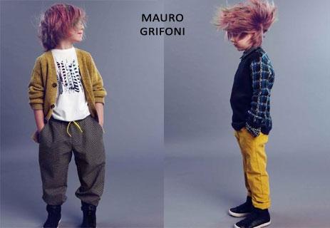 Linea abbigliamento bambini Mauro Grifoni