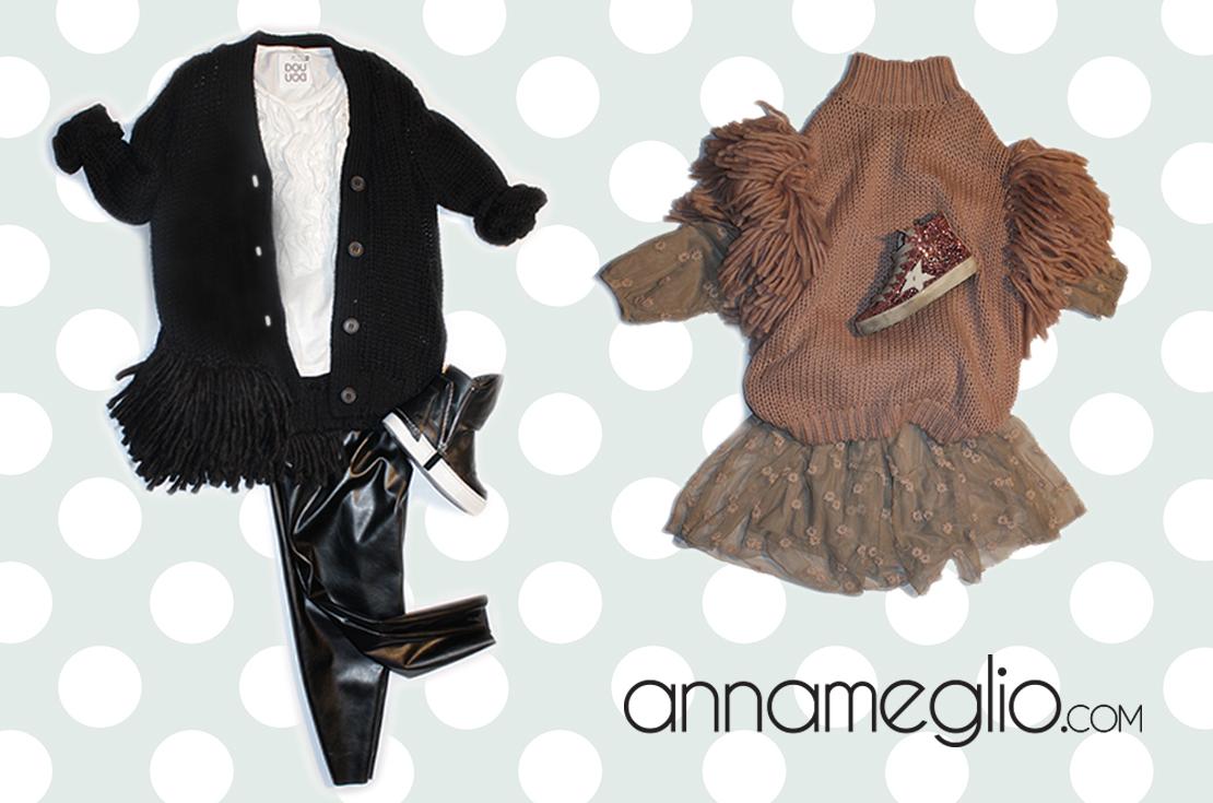 Scopri la nuova collezione abbigliamento bambina douuod autunno inverno 2016-17