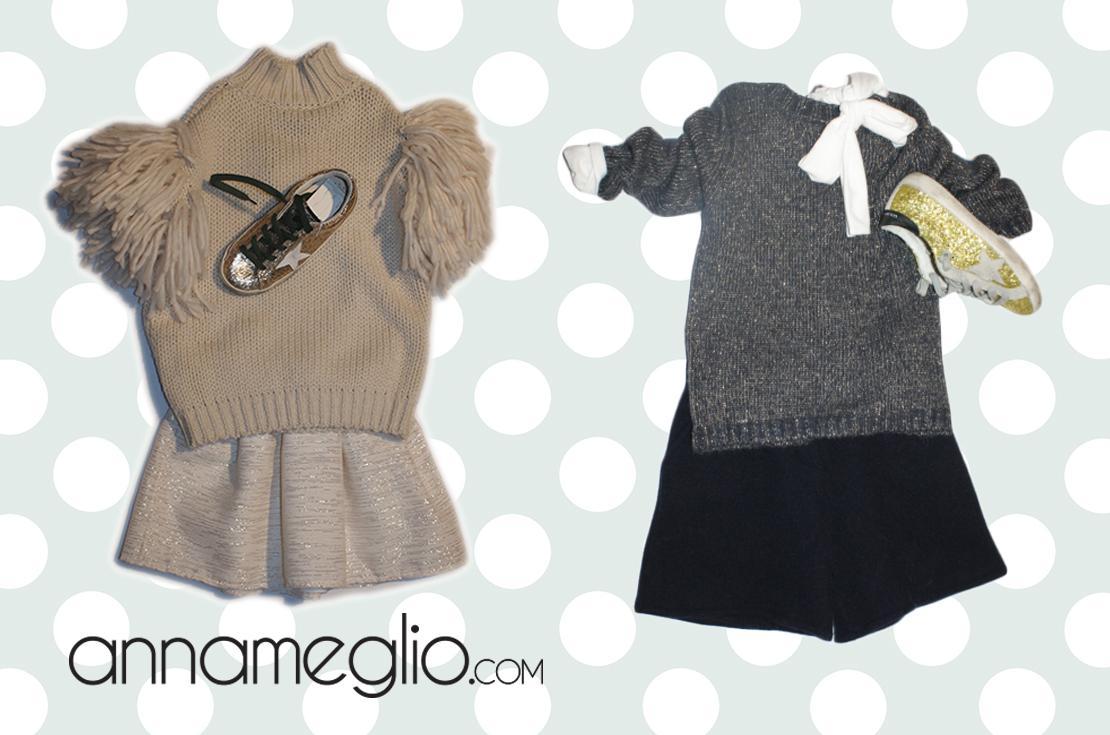 Nuova collezione abbigliamento bambina douuod autunno inverno 2016-17