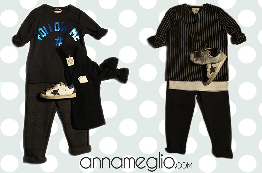 Nuova collezione abbigliamento bambino douuod autunno inverno 2016-17