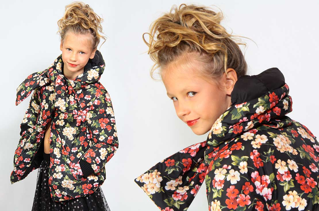 Piumino Floreare firmato Dolce & Gabbana - annameglio.com shop online