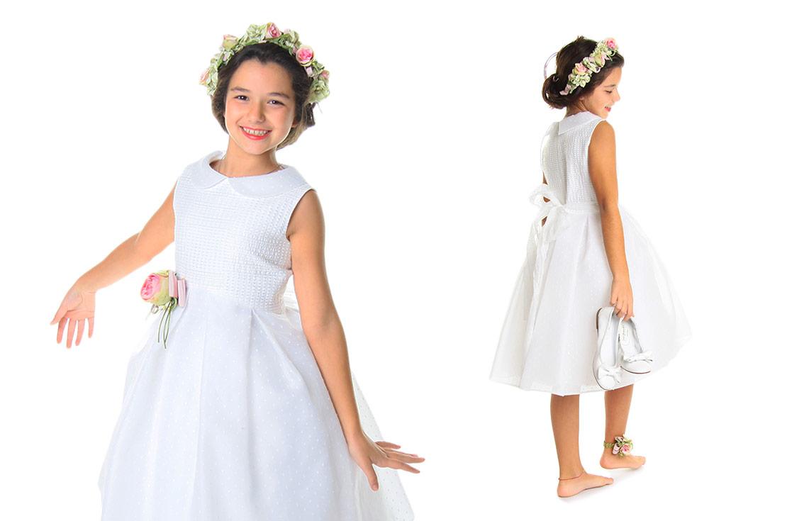Abbigliamento cerimonia damigella bambina 2017 - annameglio.com shop online 462bd6e6bea