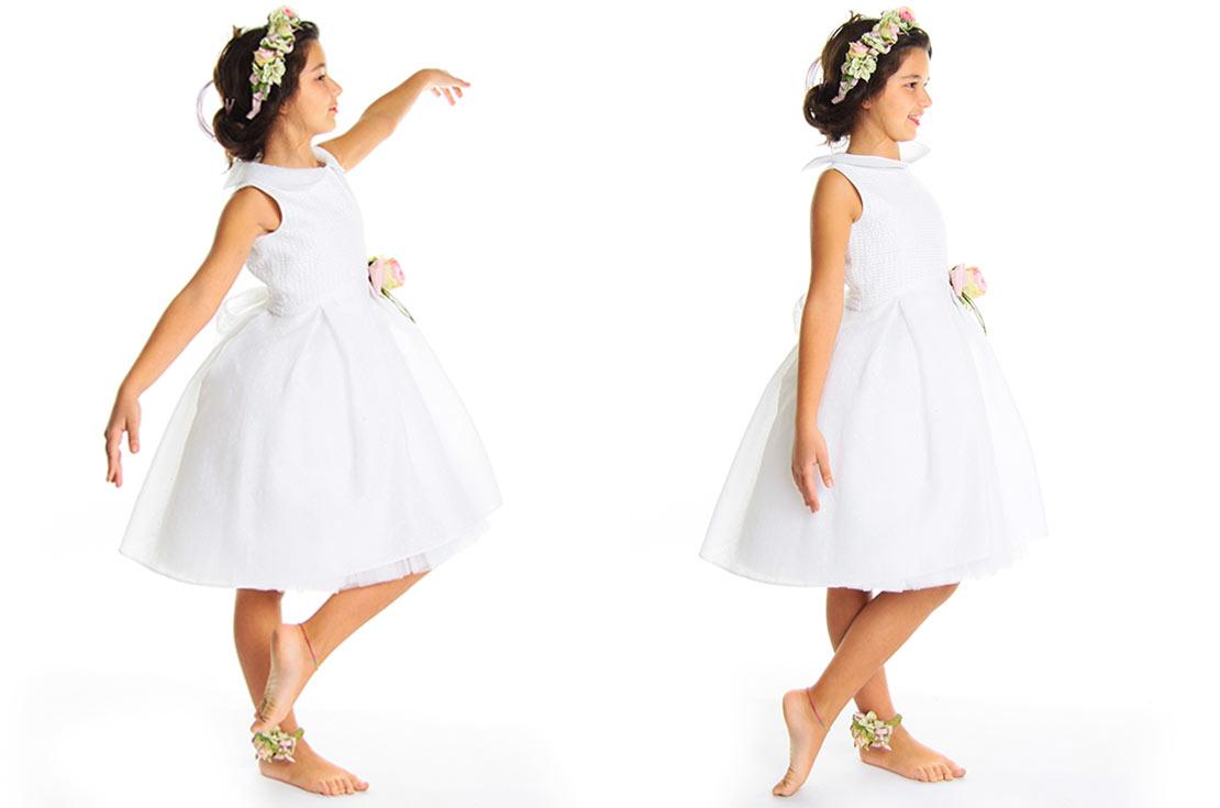 Abbigliamento cerimonia bambina damigella o prima comunione 2017 - annameglio.com shop online