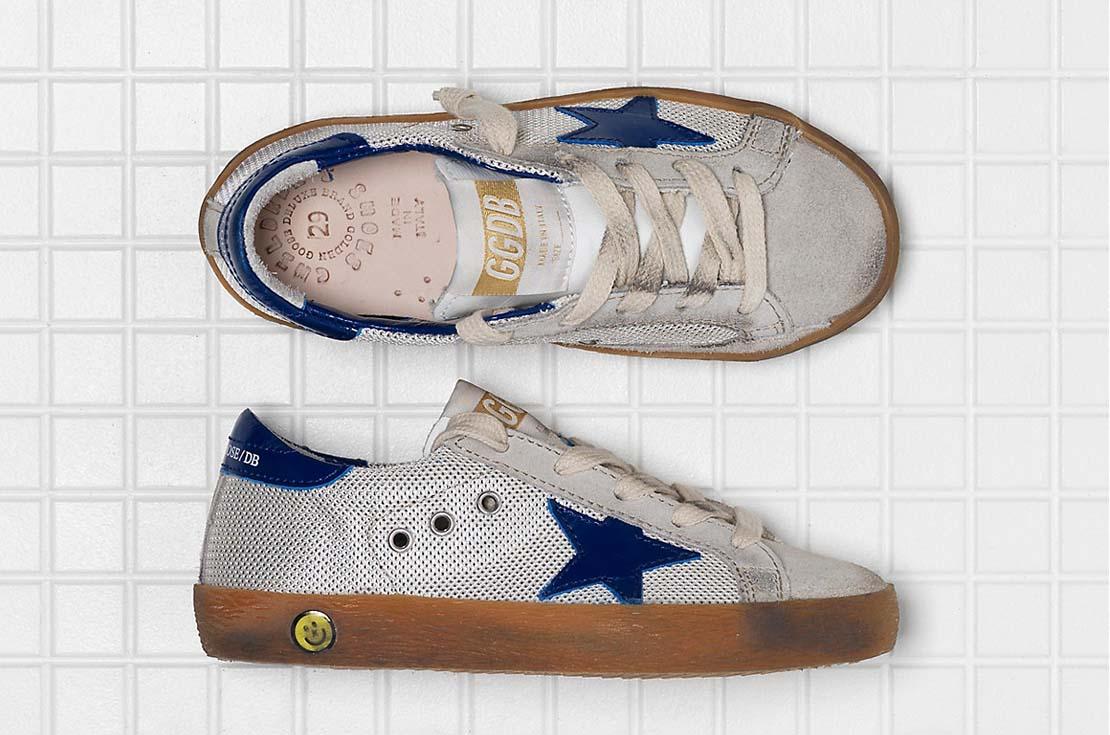 Calzature Golden Goose Superstar Sabbia per bambini e teenager su annameglio.com shop online