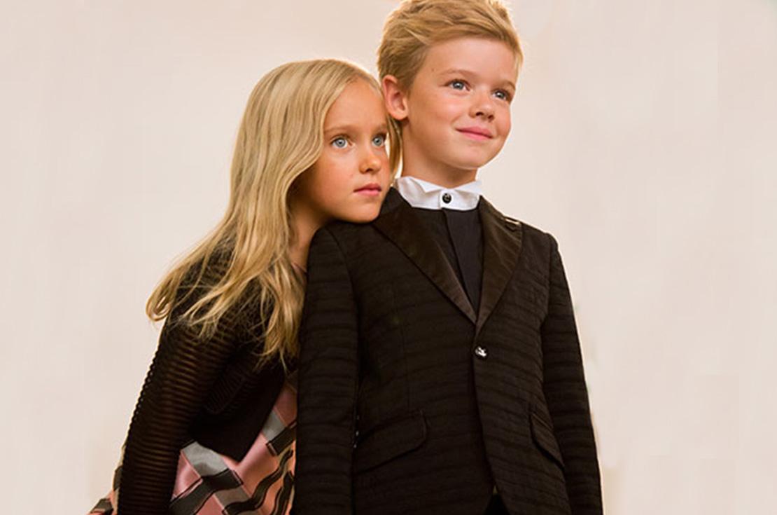 Armani Junior Abbigliamento elegante per bambino e bambina, shop online annameglio.com
