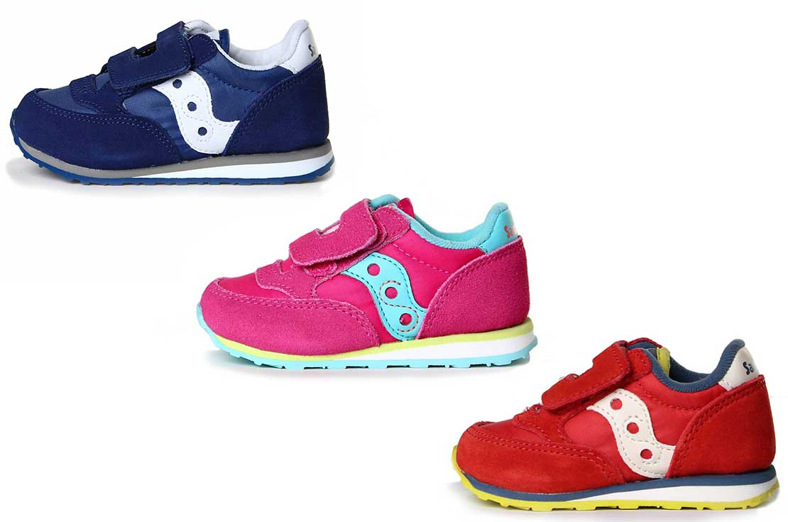 Scarpa sportiva firmata saucony baby running jazz - annameglio.com shop online