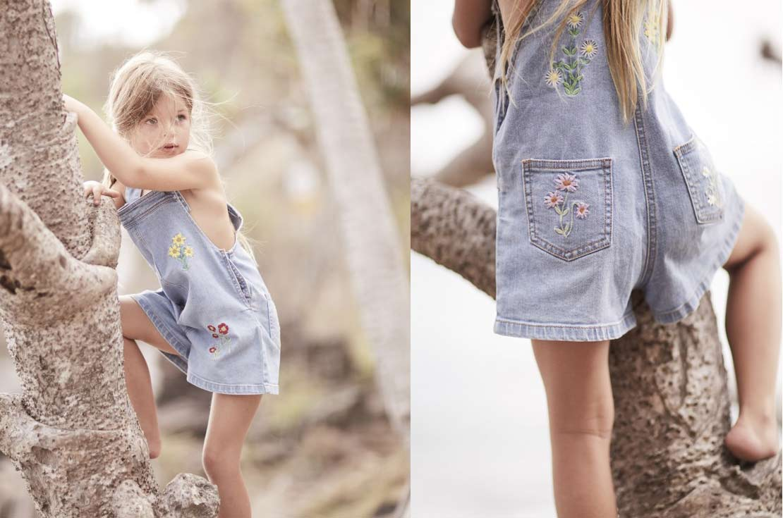 Abbigliamento denim bambina e teenager firmato stella mccartney - shop on line annameglio.com