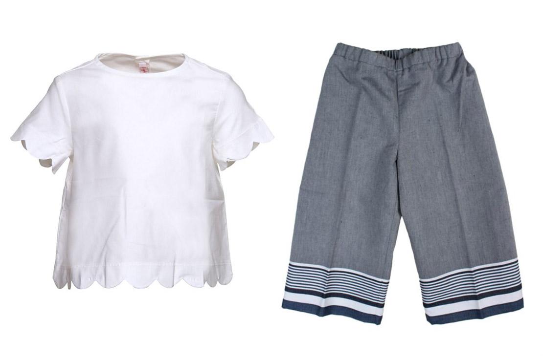 Il Gufo Camicia Bianca per Bambina - compra online su annameglio.com