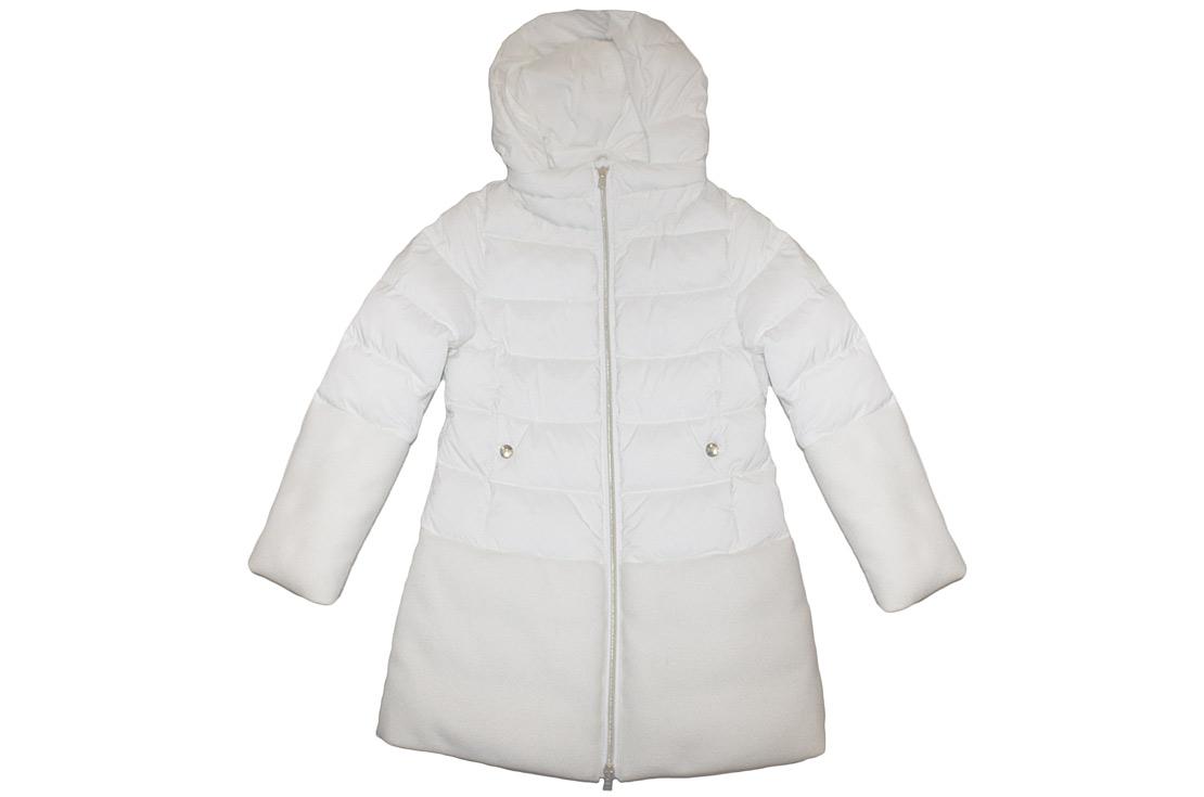 Piumino lungo con inserti in lana firmato Herno Preview collezione autunno inverno 2017/18