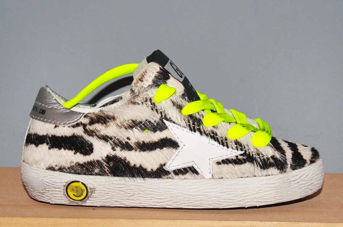 Golden Goose Deluxe Brand sneaker animalier Nuova Collezione 2018 - annameglio.com shop online