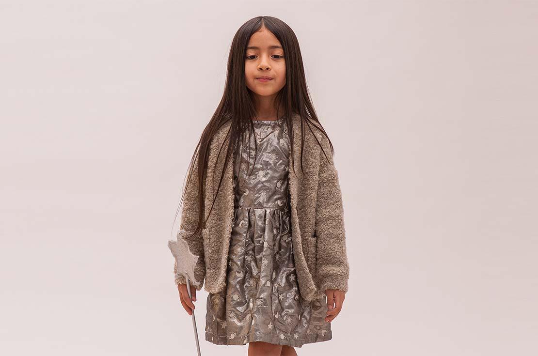 Cardigan in lana bouclè e Gilet per bambine e mamme fashion firmate Caffé d'Orzo