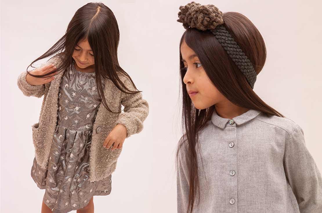Caffè D'Orzo Collezione abbigliamento Bambina e Teemager Autunno Inverno 2017-18