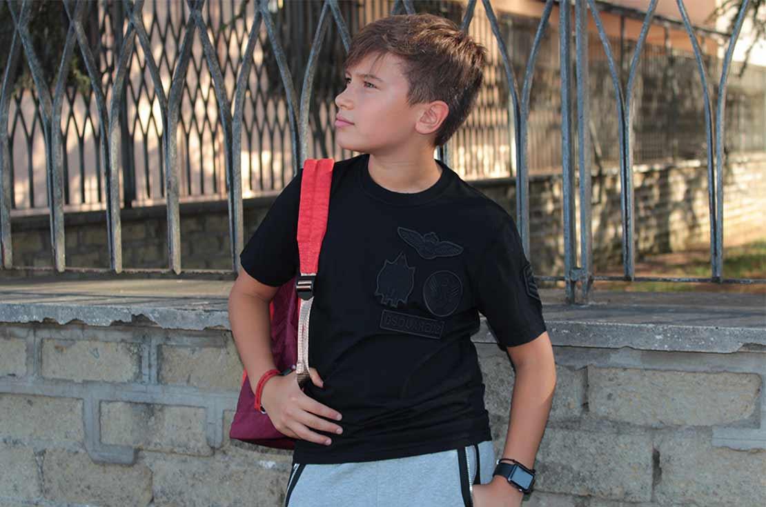 T-Shirt manica corta per bambino firmata dsquared2 - annameglio.com vendita on line
