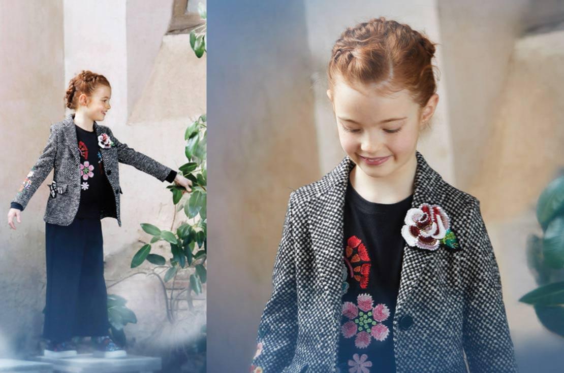 Simonetta abbigliamento bambina autunno inverno 2017/18 shop online annameglio.com