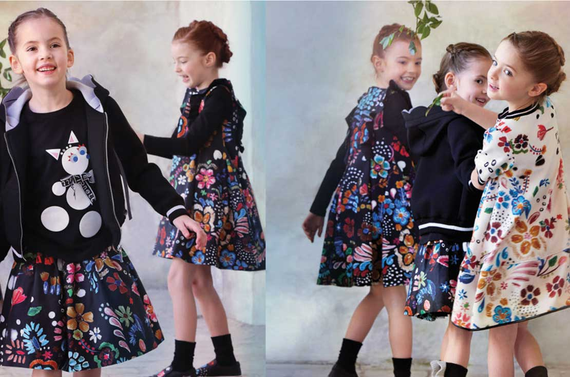 simonetta abbigliamento cerimonia bambina collezione A/I 2017/18