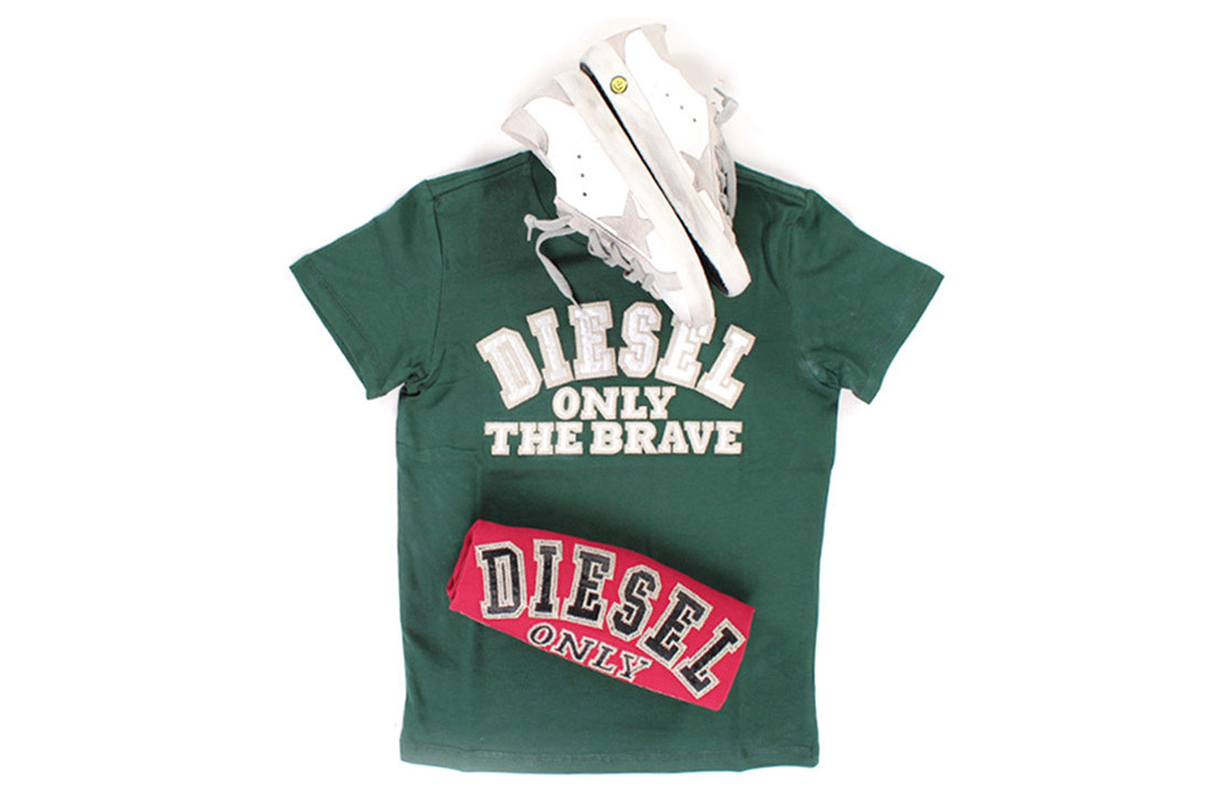 Diesel T-shirt logo iconico per Bambina ed Bambino - shop online annameglio.com