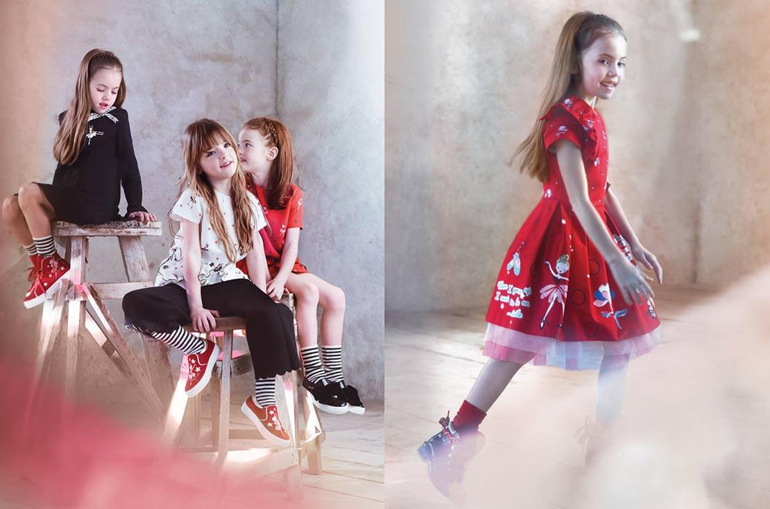 simonetta abiti eleganti bambina scopri la collezione A/I 2017/18 su annameglio.com shop online