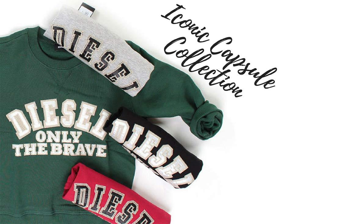 Diesel Felpa e T-shirt con logo iconico per Bambina ed Bambino - shop online annameglio.com