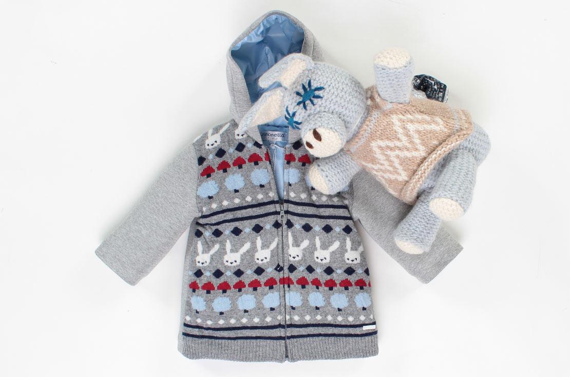 Cappottino in maglia e neoprene per il bebè idee regalo 2017