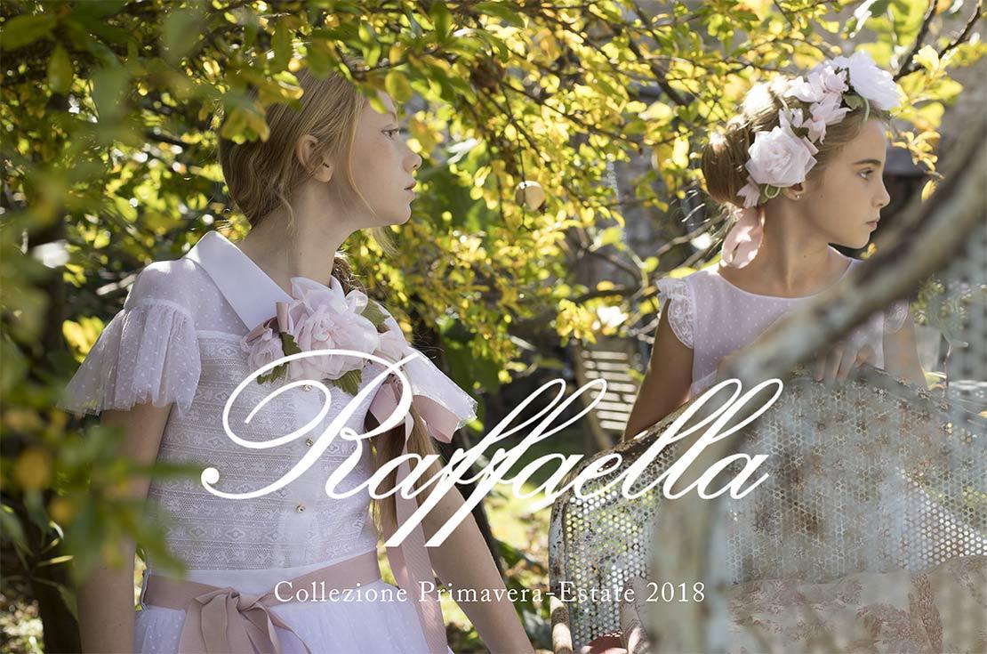 Collezione Cerimonia Bambina Raffaella 2018