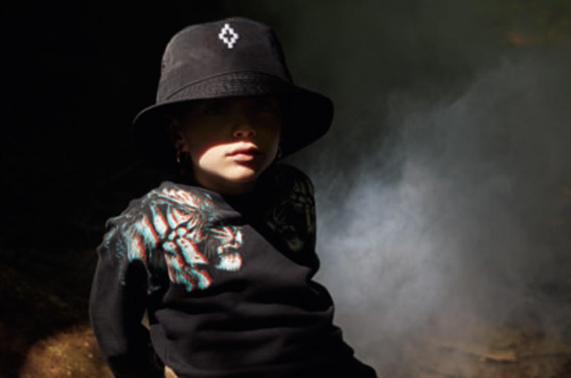 Abbigliamento ed accessori SS-2018 firmati Marcelo Burlon Kids of Milan - shop online su annameglio.com
