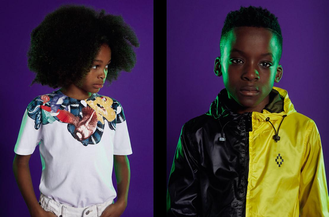 Collezione SS-2018 firmata Marcelo Burlon Kids of Milan - shop online su annameglio.com
