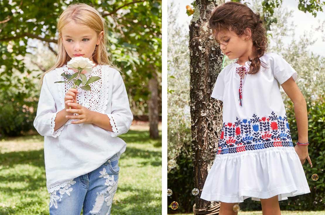 Nuova collezione Ermanno Scervino Junior Bambina Primavera Estate 2018 - annameglio.com vendita online