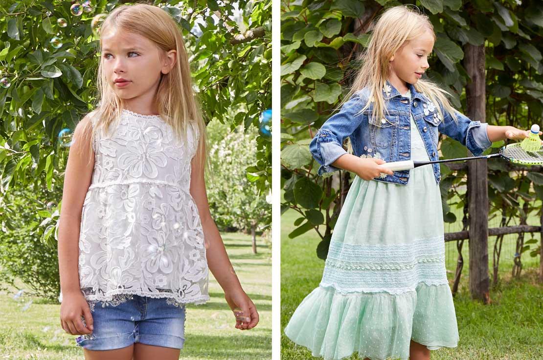Nuova collezione Ermanno Scervino Junior abbigliamento Bambina Primavera Estate 2018 - annameglio.com shop online
