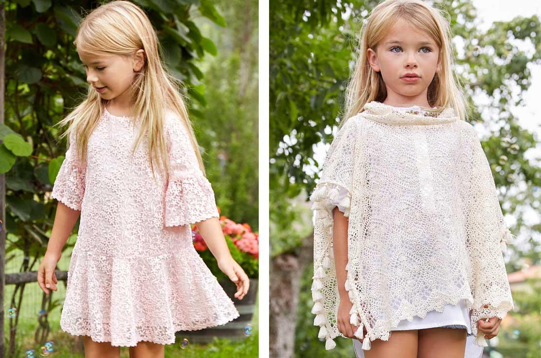 Nuova collezione Ermanno Scervino Junior abbigliamento glamour Bambina Primavera Estate 2018 - annameglio.com shop online