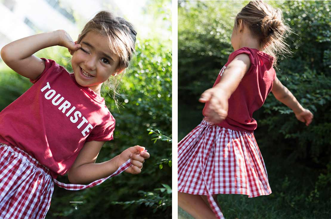 Touriste Kids Abbigliamento Total Look Bambino e Bambina - Primavera Estate 2018