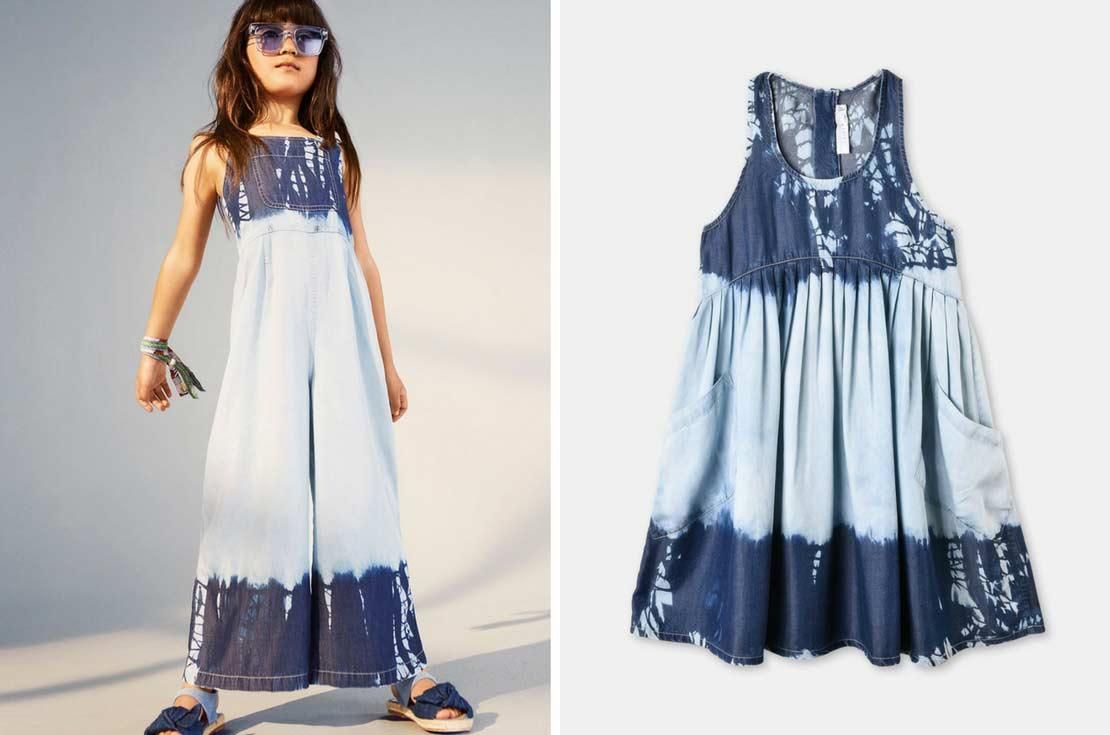 Vestito smanicato Bambina firmato Stella McCartney Kids - nuova collezione Primavera/Estate 2018