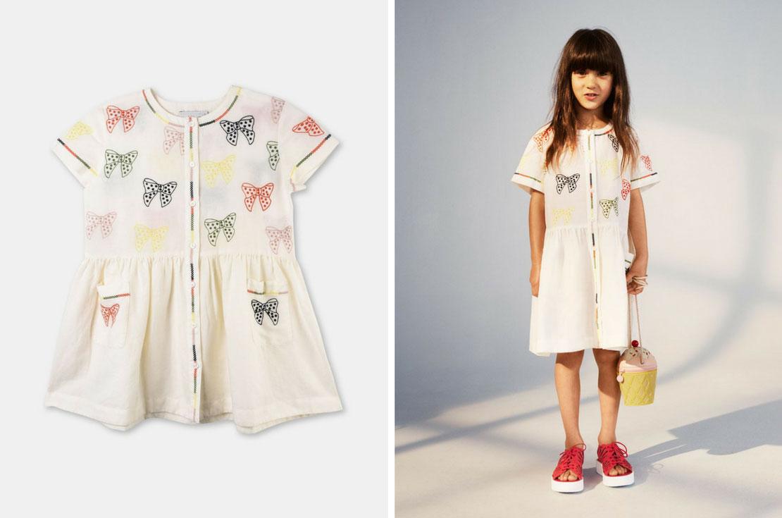Stella McCartney Kids - vestiti bambina - nuova collezione Primavera/Estate 2018