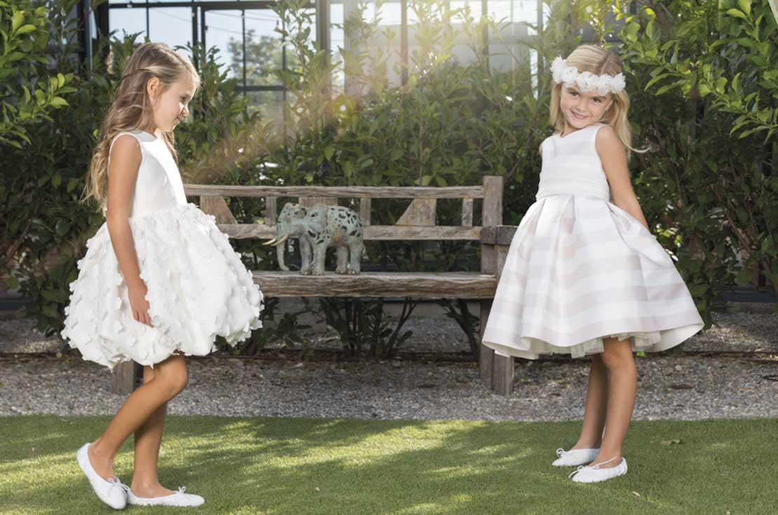 Vestiti Cerimonia 2018 Bambina.Ceremonial Dresses For Young Girls S S 18 Annameglio Blog