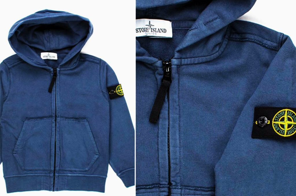blue hoodie children clothing - annameglio.com shop online