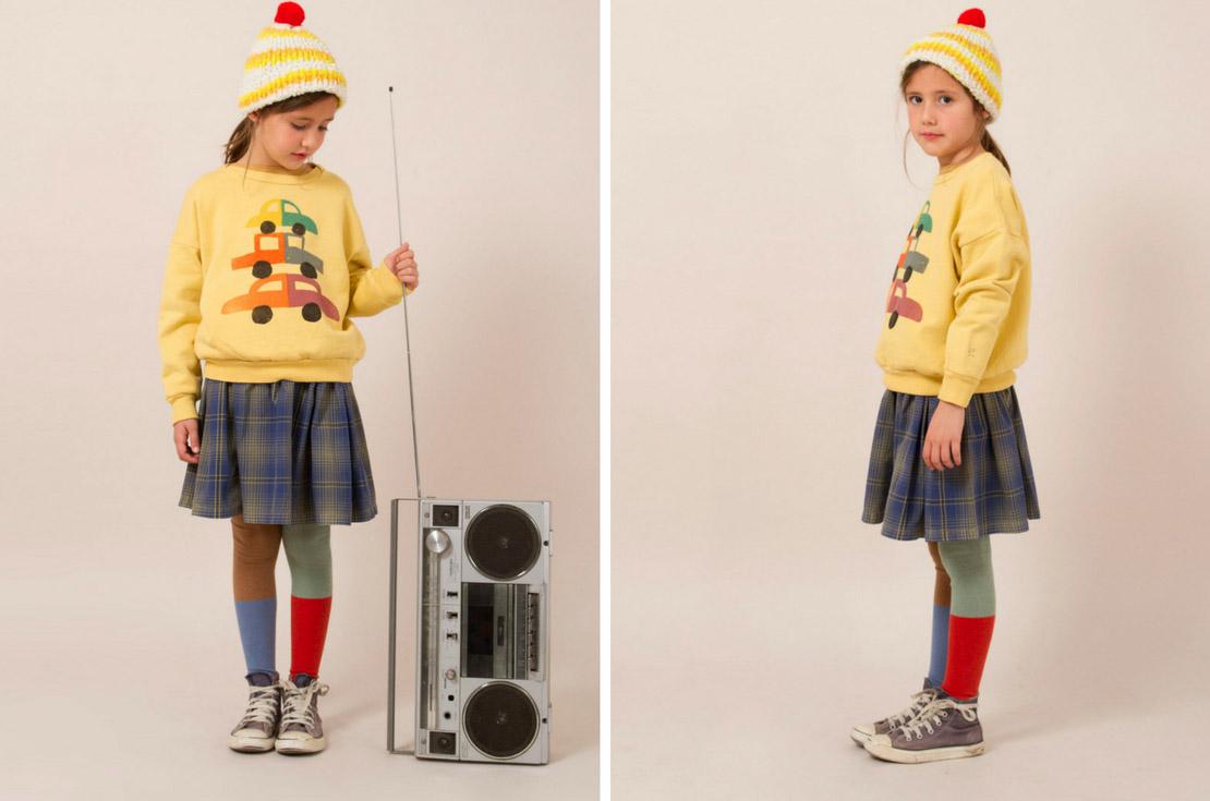 Felpa bambino e bambina firmata bobo choses da 4 a 10 anni - annameglio.com shop online