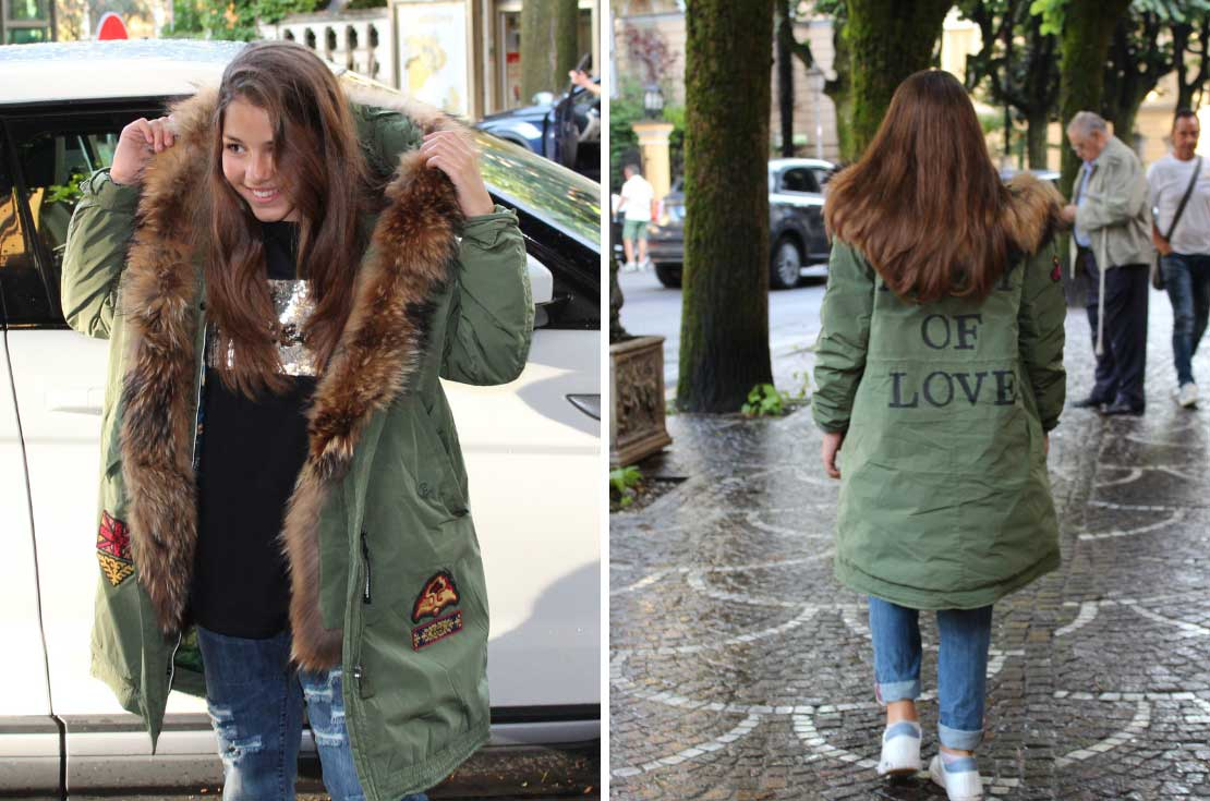 Parka protagonista outerwear bambino - annameglio.com shop online