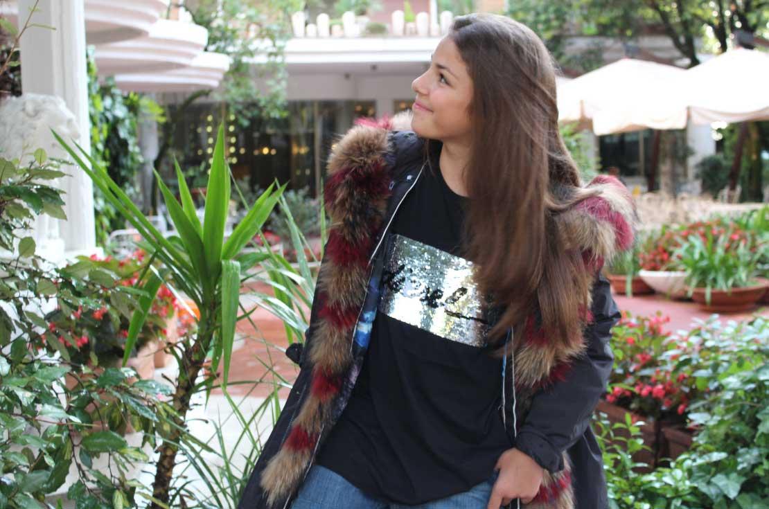 Parka giaccone ragazza bambina autunno inverno 2018