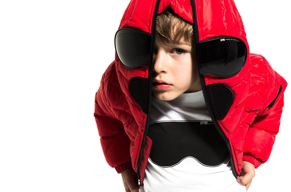 KID AI RIDERS giacche piumini bambino