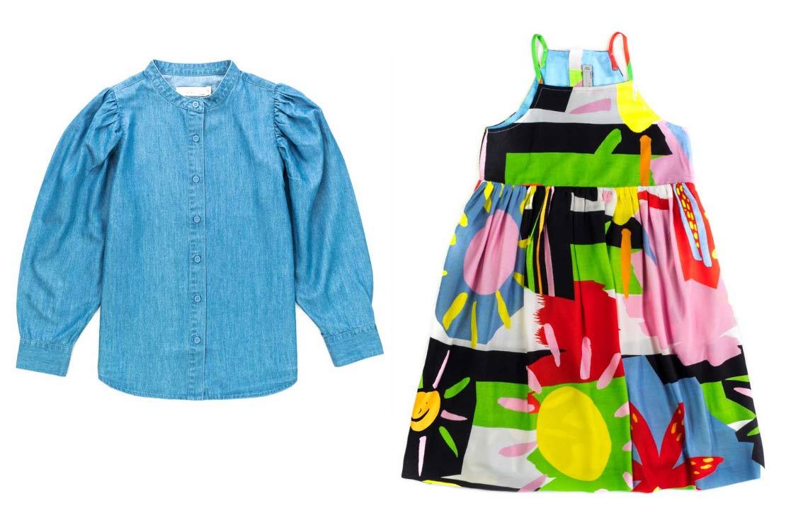 Stella McCarteney Kids, vestito e camicia con stampa - Annameglio.com shop online