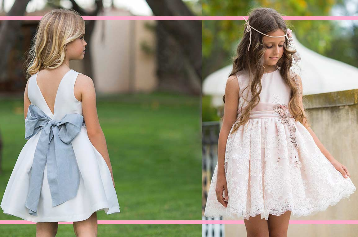 Vestiti Cerimonia 2018 Bambina.Girls Special Occasions S S 19 Colletion By Mimilu Annameglio Blog