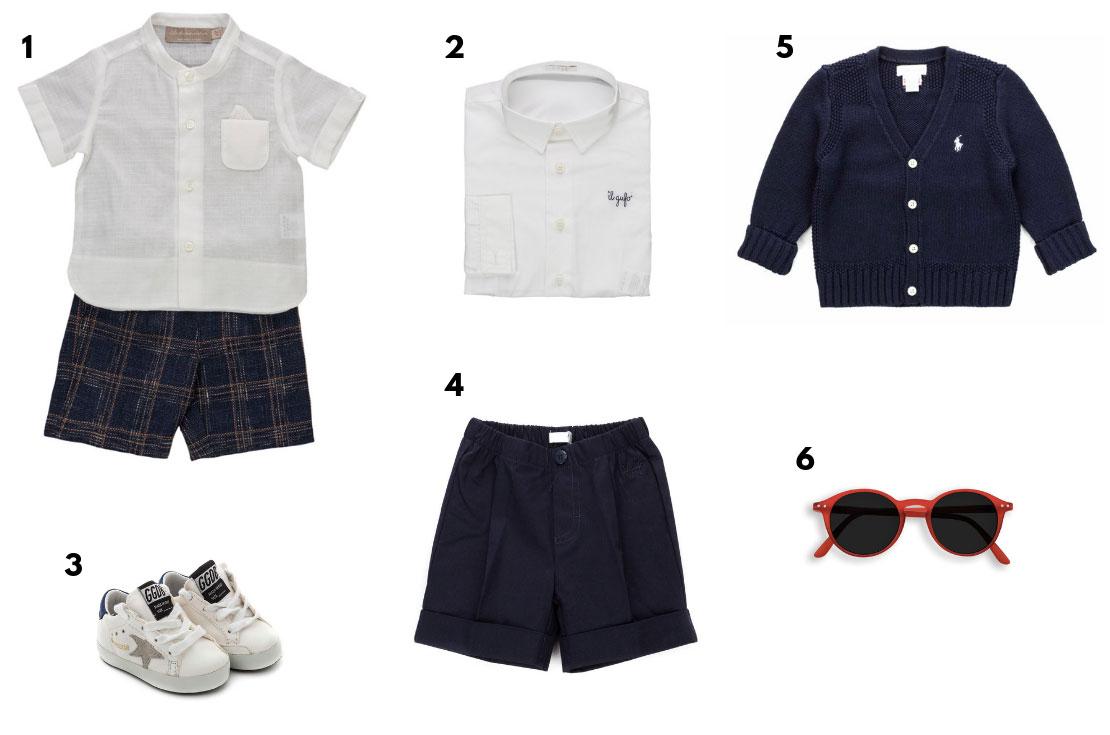 Baby Set korean shirt madras trousers