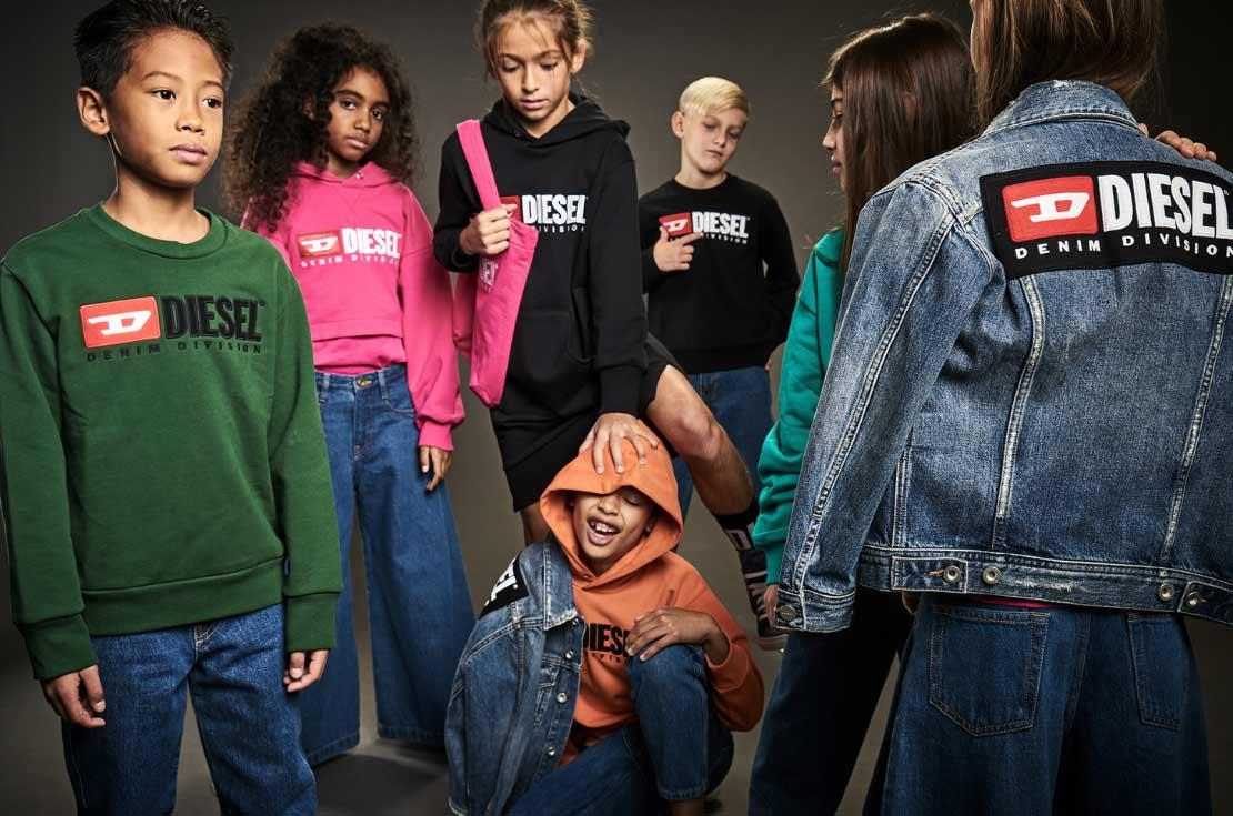abbigliamento diesel kids autunno inverno 2019