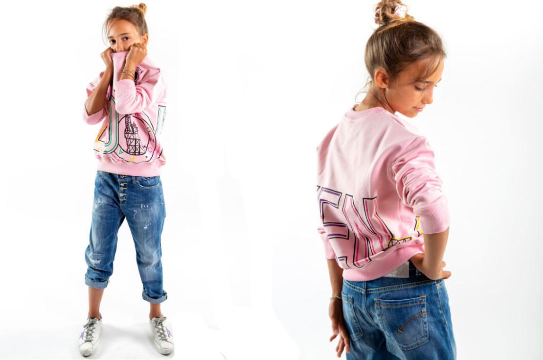Felpa Kenzo bambina e teenager - shop online annameglio.com
